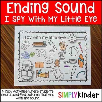 Ending Sound I Spy