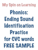 Ending Sound ID for CVC words