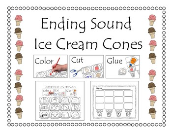 Ending Sound Ice Cream Cones