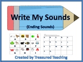 Ending Sound Identification Hands On Literacy and Phonics Practice