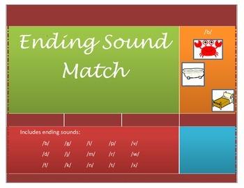 RTI Ending Sound Match