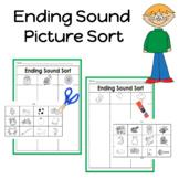 Final Phoneme (ending sound) Picture Sort Activities