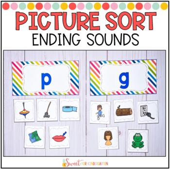 Ending Sound Picture Sort with Editable Recording Sheets