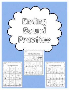Ending Sound Practice