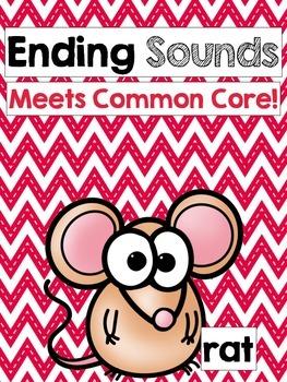 Common Core: Ending Sound Review