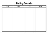 Ending Sound Sort (Letters G N L M)