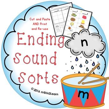 Ending Sound Sorts
