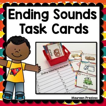 Ending Sound Task Cards