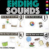 Ending Sounds Worksheets, Sorts, Cut and Paste and more!