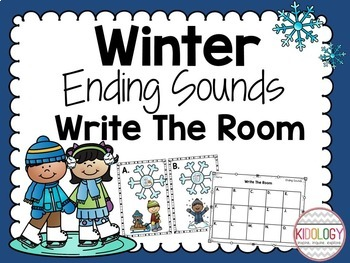 Winter Literacy Activities - Literacy Centers