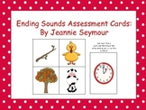 Ending Sounds Assessment Cards