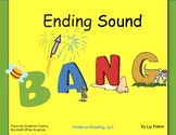 Ending Sounds Bang, Sound Sort and other Language Arts Activities