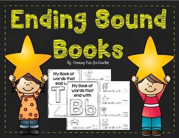Ending Sound Books - Learn Ending Sounds and Letters