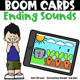 Ending Sounds - Boom Cards