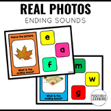 Ending Sounds Boom Cards with Real Photos