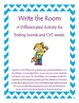 Ending Sounds Bundle - Including a Write the Room Activity