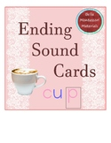 Ending Sounds  Cards - Print