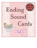 Ending Sounds  Cards - Print