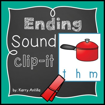 Ending Sounds Clip-It