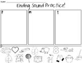 Ending Sounds Cut & Paste