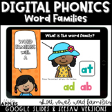 Word Family Digital Phonics Activities | Distance Learning