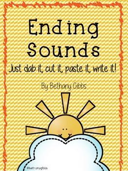 Ending Sounds and CVC Bonus