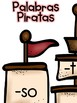 Ending Sounds Game in Spanish- Pirates Theme