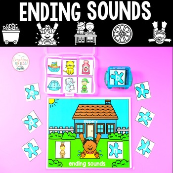 Ending Sounds Games - Phonics