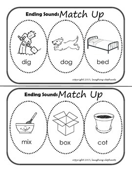 Ending Sounds Guided Reading/Intervention Work