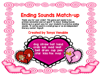 Ending Sounds Hearts Match-ups