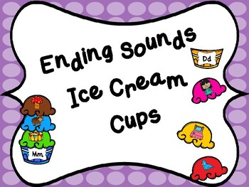 Ending Sounds Ice Cream Cup Canter