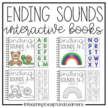 Ending Sounds Interactive Books