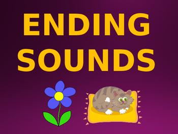 Ending Sounds Lesson