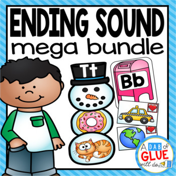 Ending Sounds Match-Up Mega {Growing} Bundle