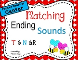 Ending Sounds Matching Activity