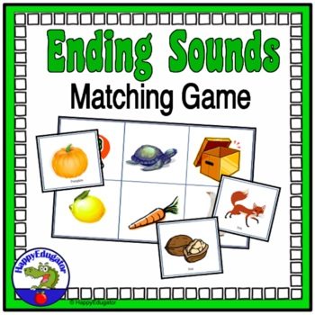 Ending Sounds Matching Game