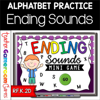Ending Sounds Mini Powerpoint Game