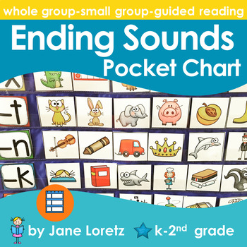 Ending Sounds Pocket Chart