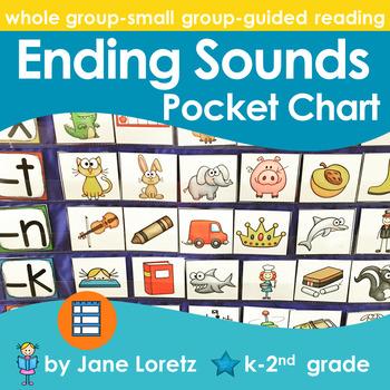 Ending Sounds Pocket Chart