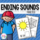 Ending Sounds Practice - CVC Words