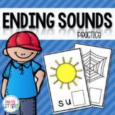 Ending Sounds Practice - CVC Words