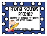 Ending Sounds Practice