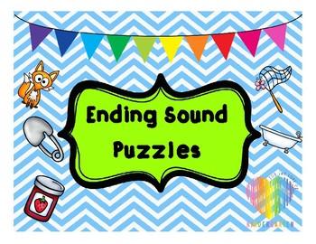 Ending Sounds Puzzles