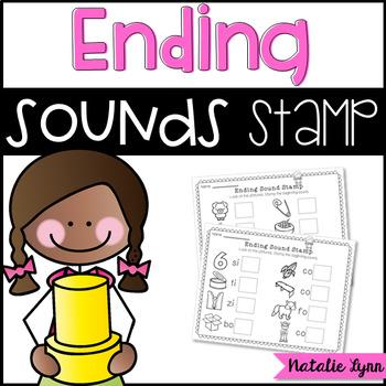 Ending Sounds Stamp