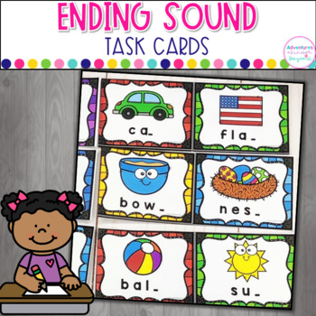 Ending Sounds Task Cards