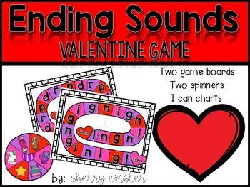 Ending Sounds Valentine Game