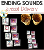 Ending Sounds Activities - Valentine's Day