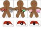 Ending Sounds Word Work Activity Build a Gingerbread Man Daily 5 Literacy Center