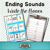 Ending Sounds Write the Room