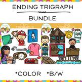 Ending Trigraph Clip Art Bundle